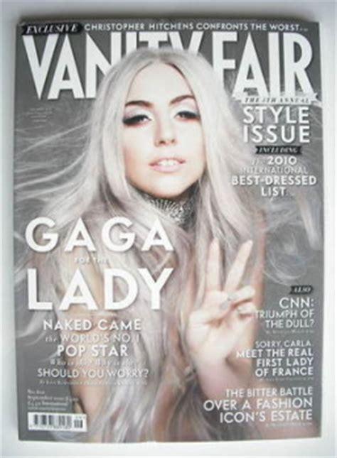 Gaga Vanity Fair 2010 by Vanity Fair Magazine Back Issues Uk For Sale Page 4