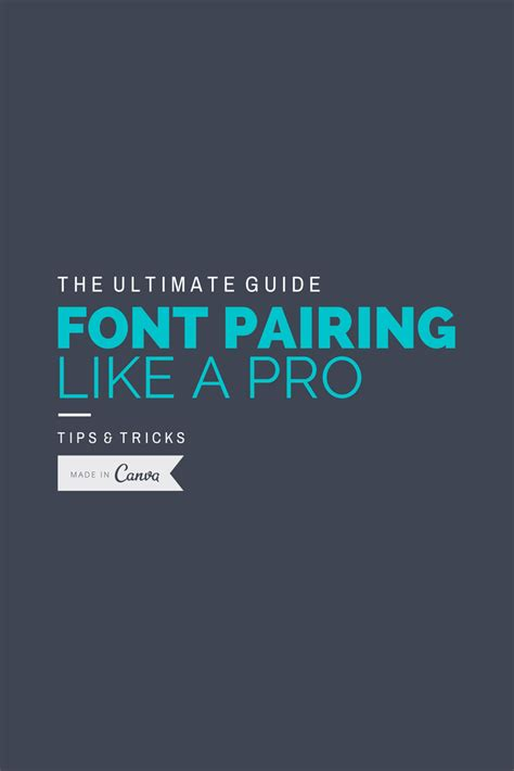 canva font pairing this is a great article on font pairing also does a great