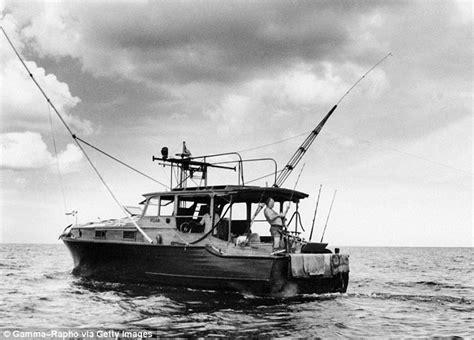 ernest hemingway fishing boat hemingway movie makes a rare hollywood moment in cuba