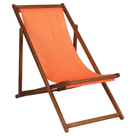Deck Chair Position by Buy Wooden Deck Chair Burnt Orange From Our
