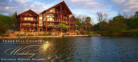 a hill country wedding exclusive wedding venue