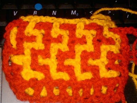 interlocking crochet zig zag pattern crochet crazy 187 interlocking crochet