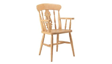 Fiddle Back Carver Chairs by Fiddle Back Beech Carver Chair