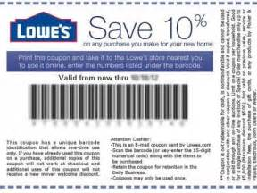 Lowes coupons retail store 2