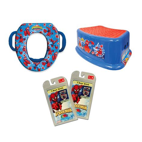 layout kit toillet potty training kit spiderman 2 potty training concepts