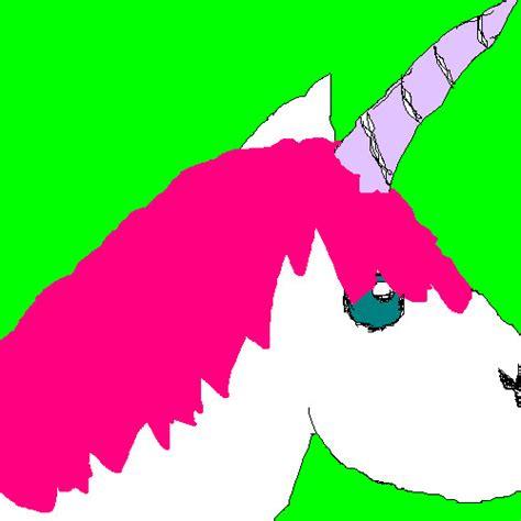 ms paint unicorn by frumpyunicorn on deviantart