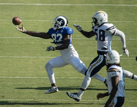 where do the chargers practice chargers hold joint practice with rams get run at