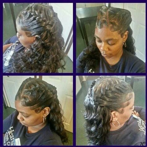 how to underbraid 1000 images about quick weave on pinterest track short