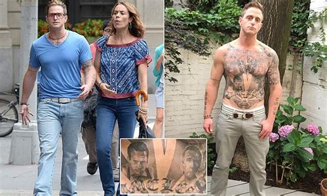 cameron douglas tattoos cameron douglas seen with instructor 5
