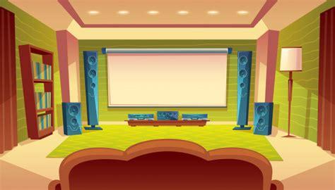cinema casa gratis cine en casa de dibujos animados con proyector sistema de