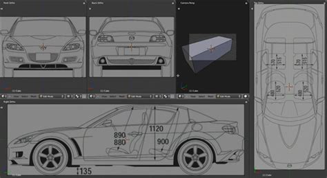 tutorial blender modeling car blender setting up car blueprints tutorial