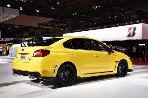 yellow subaru limited edition subaru wrx sti s207 to be released in