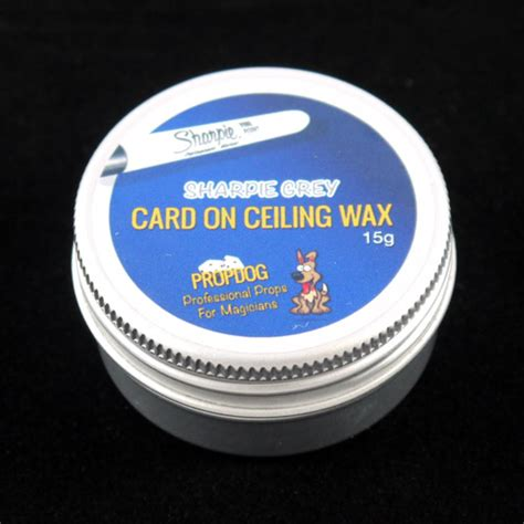 Ceiling Wax by Card On Ceiling Wax By Propdog Sharpie Grey 15g