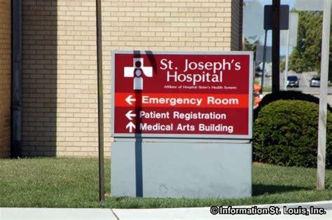 st joseph hospital emergency room phone number st josephs hospital in zip code 62249