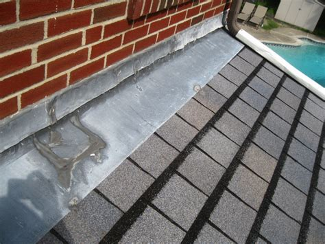 roof repair counterflashing