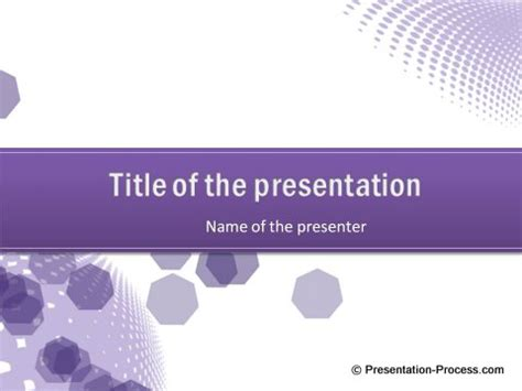 Using The Right Colors In Powerpoint Presentations Powerpoint Templates Free Violet