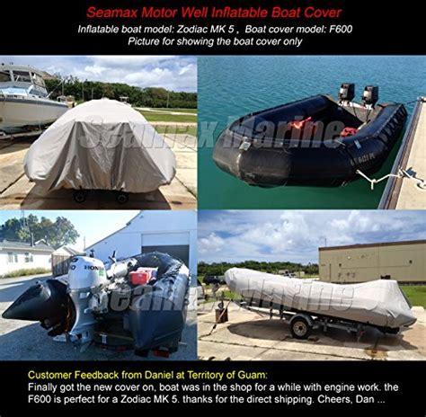 zodiac boat kuwait seamax dinghy tender raft cover model c390 for