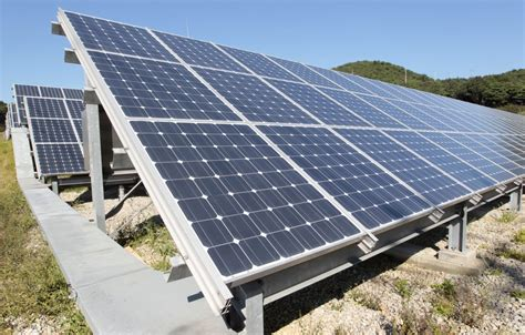 Solar Panels In Dina - korea s solar boom is giving power to the for
