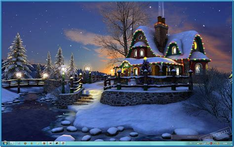 christmas wallpaper for vista 3d animated christmas wallpapers wallpapersafari