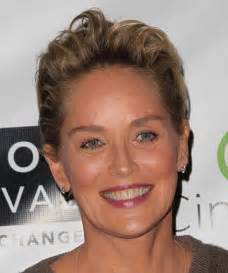 Sharon stone hairstyles front and back views newhairstylesformen2014