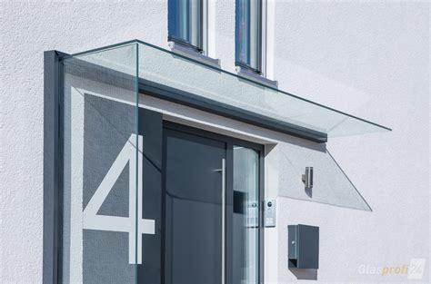 Schiebetür Mit Glas by Vordach Mit Windschutz Aus Glas Glasprofi24