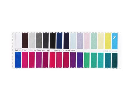 best color swatches of 2016 fabric color swatch cool true winter with 30 type
