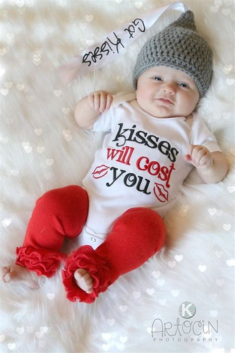 valentines day baby photos personalized reversible pinafore sassy