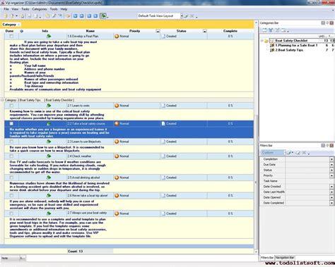 boat safety briefing boat safety checklist to do list organizer checklist