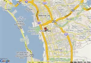 map of vagabond inn san diego chula vista chula vista