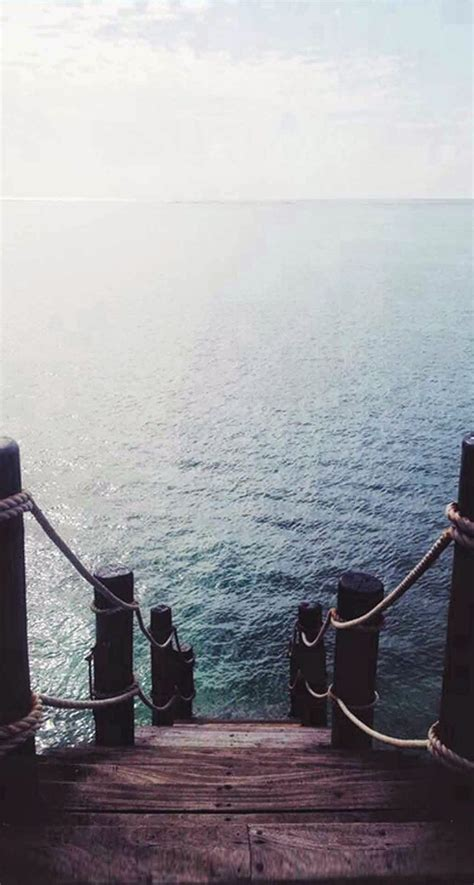 wallpaper for iphone view pier dock ocean view iphone 6 plus hd wallpaper ipod