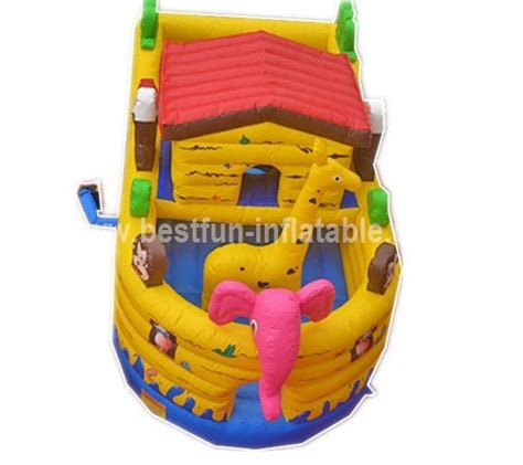 inflatable boat house noah ark inflatable bounce house boat manufacturer supplier
