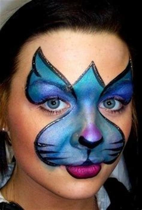 basic cat painting designs 102 best facepainting animals images on