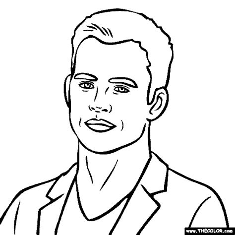 Free Coloring Pages Of How To Draw Tyga Chris Brown Coloring Pages