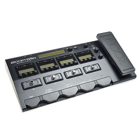Zoom G5n Guitar Multi Effect zoom g5n multi effects processor for guitarists reverb