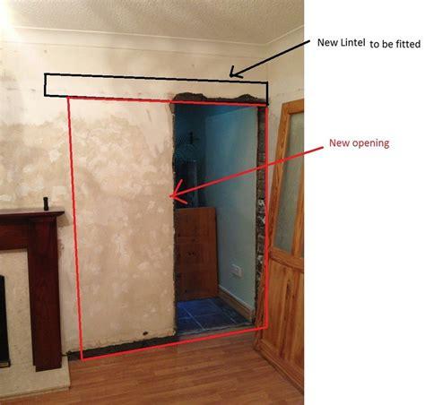 widen internal doorway conversions general job