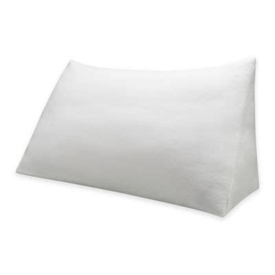 wedge pillow bed bath and beyond buy bed wedge support pillow from bed bath beyond