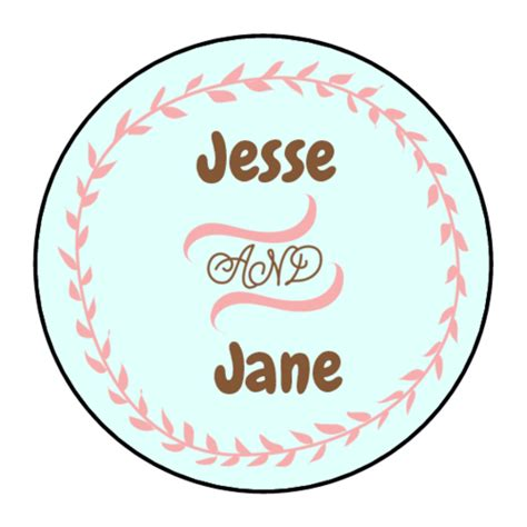 23 Images Of Wedding Round Sticker Template Leseriail Com Circle Sticker Labels Template