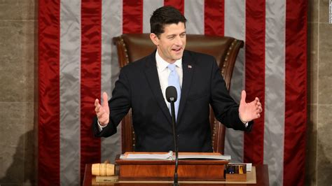 who is the speaker of the house paul ryan elected house speaker cnnpolitics com