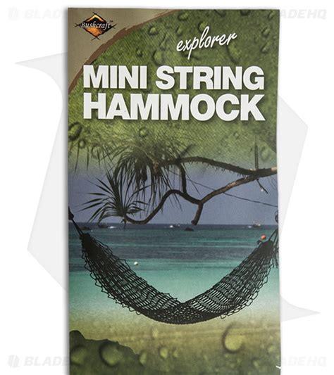Mini Hammock Bushcraft Mini Hammock Ct430 Blade Hq