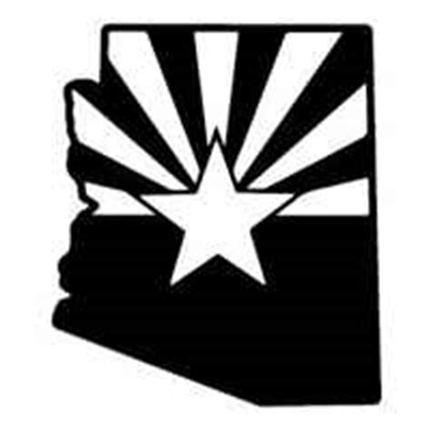 Helicopter Wall Stickers arizona state shaped flag decals amp window stickers