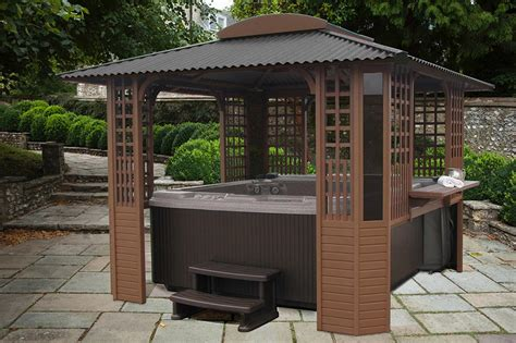 spa pergola ideas tub gazebo plans free pergola design ideas