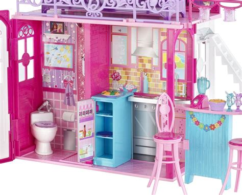 barbie vacation house barbie glam vacation house amazon co uk toys games