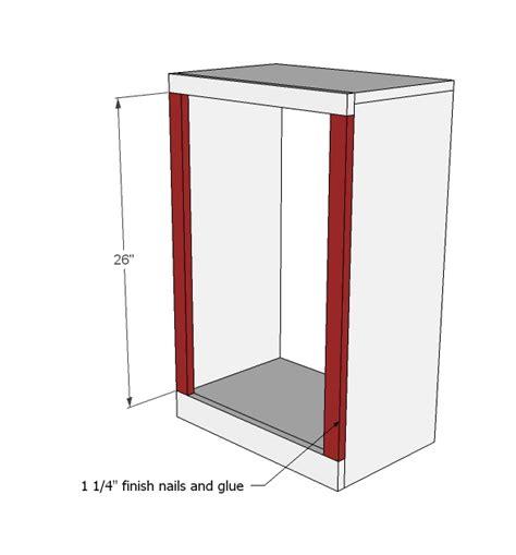 Kitchen Garbage Can Cabinet Plans Tilt Out Trash Cabinet Woodworking Plans Woodshop Plans
