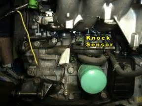 how important is the knock sensor honda tech honda