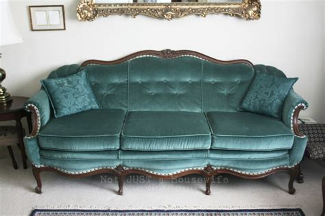 turquoise couch loving your home not just a housewife
