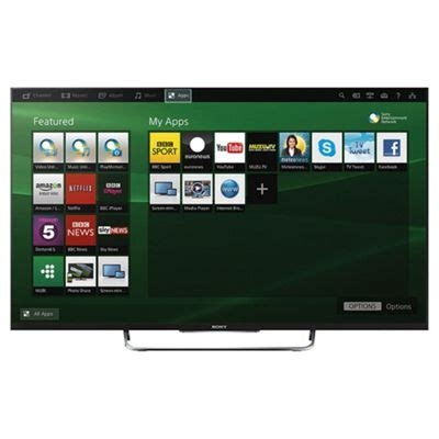 Led Akari 50 Inch buy sony kdl50w829bbu 50 inch 3d smart wifi built in hd 1080p led tv with freeview hd from
