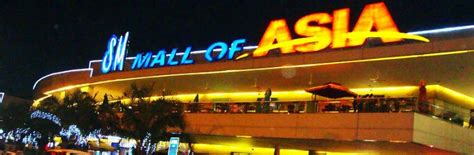SM Mall Of Asia Manila   Mall Directory