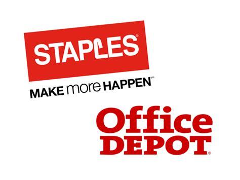 staples inc spls office depot inc odp on