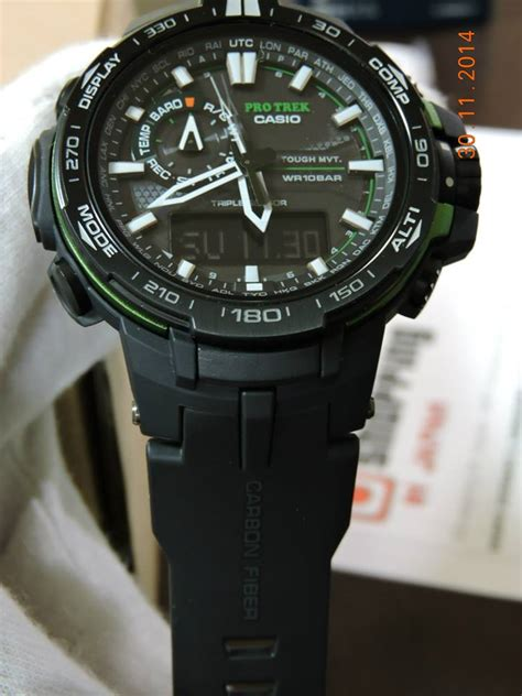 Protrek Prw 6000 Black Rosegold protrek prw 6000y 1a 1 casio news parts
