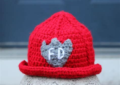 knitted fireman hat pattern crochet projects craftycreativekathy